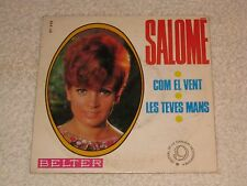 "SALOME COM EL VENT 9ª FESTIVAL DEL MEDITERRANEO SPANISH ORIGINAL ISSUE 7"""