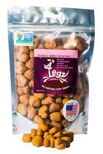 4Legz Organic Sweet Potatoes All Natural Dog Treats - 7oz - NON-GMO Verified
