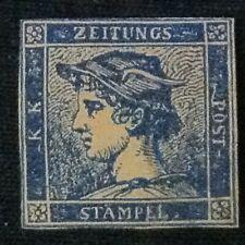 Austria  SC #P1a  Mint No Gum  1851