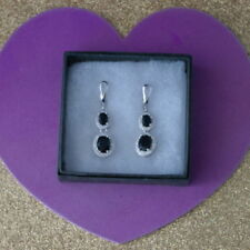 Leverback Natural Sapphire Costume Earrings