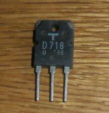 2 SD 718 (= NPN - 120v - 8a - 80w-toshiba = nos)