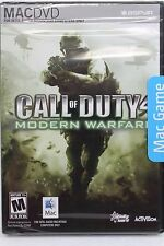 CALL OF DUTY 4 Modern Warfare, Mac Game, in a New Sealed Box