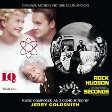 I.Q. / Seconds Jerry Goldsmith rare cd sealed. Limited to 2500 copies. OOP