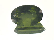 Moldavite oval big standard cut piece - 7cts #BRUS1119