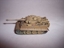 German Tiger 1 in Dunklegelb 1/144 12mm Takara World Tank Museum Painted Model