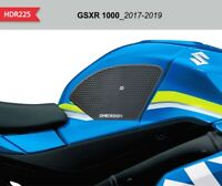 Protezioni laterali nere per serbatoio e carena SUZUKI GSX R 1000 2017-2019