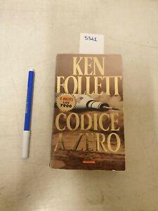 Codice zero di Ken Follett formato tascabile