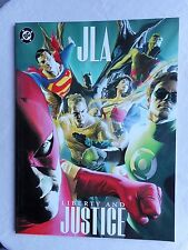DINI ROSS JLA LIBERTY AND JUSTICE VO GRAND FORMAT EXCELLENT ETAT