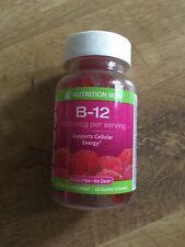 Nutrition Now Vitamin B12 Raspberry Gummy Vitamins 60 Count