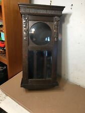 Antique Art Deco Oak German Wall Clock Case