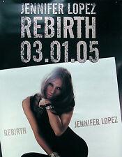 Jennifer Lopez 2005 Rebirth Promo Poster Original Jumbo Over Sized