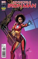 Invincible Iron #1 J Scott Campbell Variant Riri Williams Marvel Comics