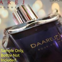 AUTHENTIC Daarej Rasasi Eau de Parfum - Sample FAST FREE SHIPPING