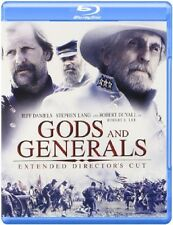 GODS AND GENERALS: EXTENDED DIRECTOR'S CUT BLU RAY - NEW!!