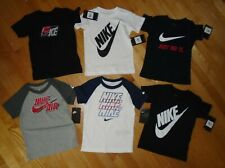 Nike Baby Toddler Boys Short Sleeve Cotton Tee T-Shirt Your Choice 2T 3T 4T NWT