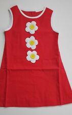 EX-BODEN GIRLS RETRO FLOWER DRESS PURPLE-YELLOW-RED BNWOT AGES 2-3-4-5-6-7-8