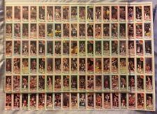 """1-1980/81 TOPPS BASKETBALL UNCUT SHEET 36 CARDS 15"""" by 21"""" MANY STAR PLAYERS #6"""