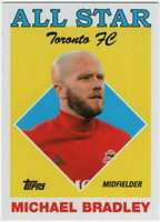 2018 Topps MLS Soccer All-Star Insert #AS-MC Michael Bradley