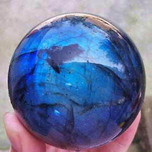 1pc Labradorita natural Esfera de cuarzo Bola de cristal Reiki Curación
