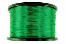TEMCo Magnet Wire 24 AWG Gauge Enameled Copper 3.5lb 2770ft 155C Coil Green
