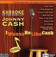Karaoke - Karaoke Music of Johnny Cash: I Wanna Be Like Cash [New CD]