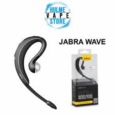 Jabra Wave Wireless Bluetooth black Headset BT3040 Wind Noise Reduction Black