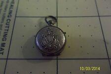 Antique Victorian  Photo Locket Pocket Watch Type Case vintage  vtg