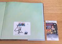John Cena WWE Wrestler Actor Signed Autograph Elbow Grease Book JSA COA