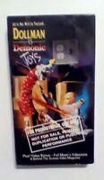 Dollman Vs. Demonic Toys Promo Horror Action VHS 1993 Quiet Riot Featured