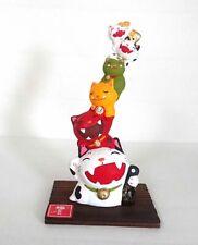 Japanese ONI Maneki Neko Lucky Cat Porcelain Fuku made in japan