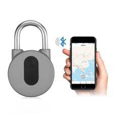 Anti-Diebstahl Keyless Wireless Bluetooth App Vorhängeschloss Für Fahrrad Tor se