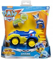 Paw Patrol MIGHTY PUPS Super Paws Chase's Deluxe Vehicle + Lights & Sounds