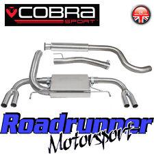 "Cobra Astra VXR J MK6 Exhaust System 3"" Stainless Cat Back - Resonated VX24"