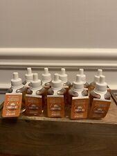 Ten (10) Wallflowers ~ Pumpkin Pie Scent With Essential Oils ~ Bath & Body Works