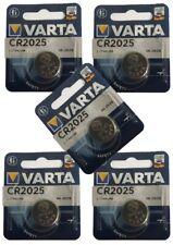 5 x VARTA CR2025 Lithium 3V Knopfzelle 3 Volt CR 2025 Batterie