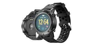 SILVERCREST Smartwatch mit GPS/App schwarz Armbanduhr Uhr *B-Ware