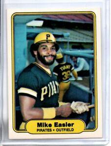 1982 FLEER MIKE EASLER (NM/MT OR BETTER) <<