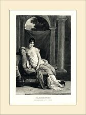 JULIE RECAMIER BERNARD PARIS SALON 1904 HOLZSTICH GL369