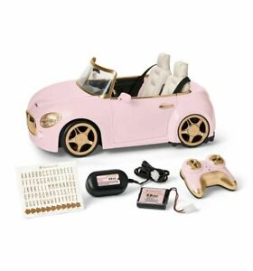 American Girl RC Sports Car Pink REMOTE CONTROL NEW READY TO SHIP