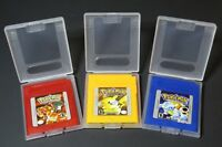 Pokemon Red Blue Yellow Version Color Gameboy Nintendo US Shipping