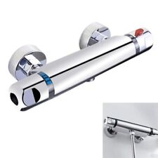 Chrome Thermostatic Bar Shower Mixer Valve Anti Scald Tap C1S3