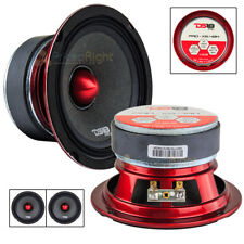 "2 DS18 PRO-X5.4BM 300W Max 5.25"" Midrange Loud Speakers 4 Ohm High Strength New"