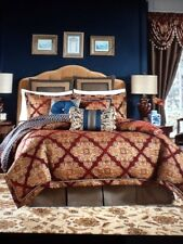 NEW CROSCILL SEBASTIAN Queen Size Comforter Set