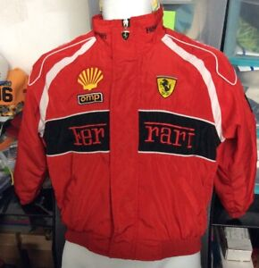 Ferrari Red Youth Racing Jacket XL *SEE PICS READ*