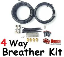 BOSS 4-Way Diffs, Transfer Case & Gear Box Breather Kit suits Nissan Navara D22