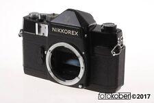 NIKON Nikkorex F Gehäuse - Sehr seltene schwarze Version - SNr: 377081
