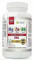 Magnesio Zinco & VITAMINA B6 120 Compresse Aiuto Sonno TESTOSTERONE BOOSTER