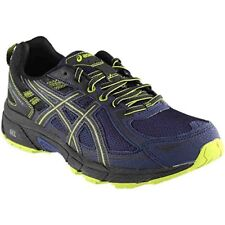 ASICS GEL Venture 6 Mens Blue Nylon Athletic Lace up Running Shoes 9.5