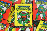 Topps Teenage Mutant Ninja Turtles Trading Cards, Series I, ONE Wax Paxk, 1990