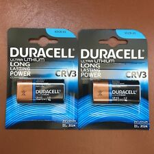 2 x Nuevo Duracell CRV3 3 V Batería de Litio Foto Ultra LB01 CR-V3 Dlcr-V3 CRV3